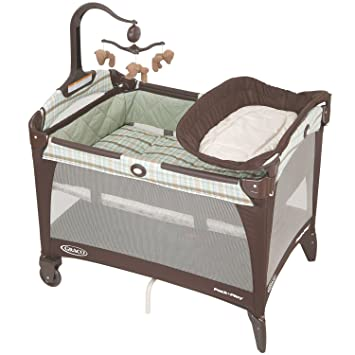 Graco Pack  N Play Playard with Bassinet and Changer  Brentwood. Amazon com   Graco Pack  N Play Playard with Bassinet and Changer