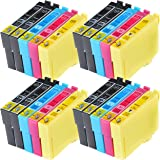 Compatible Non-OEM Ink Cartridges for use with Epson Expression XP-422 Printers (Will not work with XP-432 or XP-442) (20-Pack)