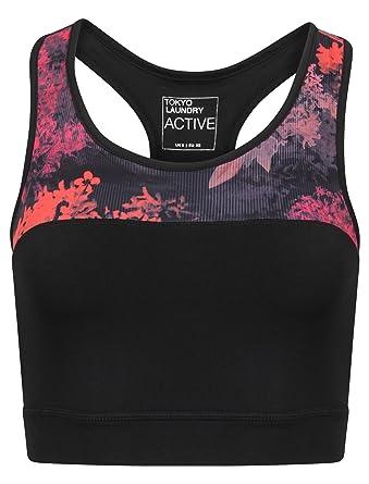 Tokyo Laundry Womens Designer Sports Tops Or Leggings Ladies Running  Activewear  Amazon.co.uk  Clothing 4e04254e86c
