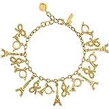 Kate Spade New York Parisian Lights Charm Bracelet, Gold