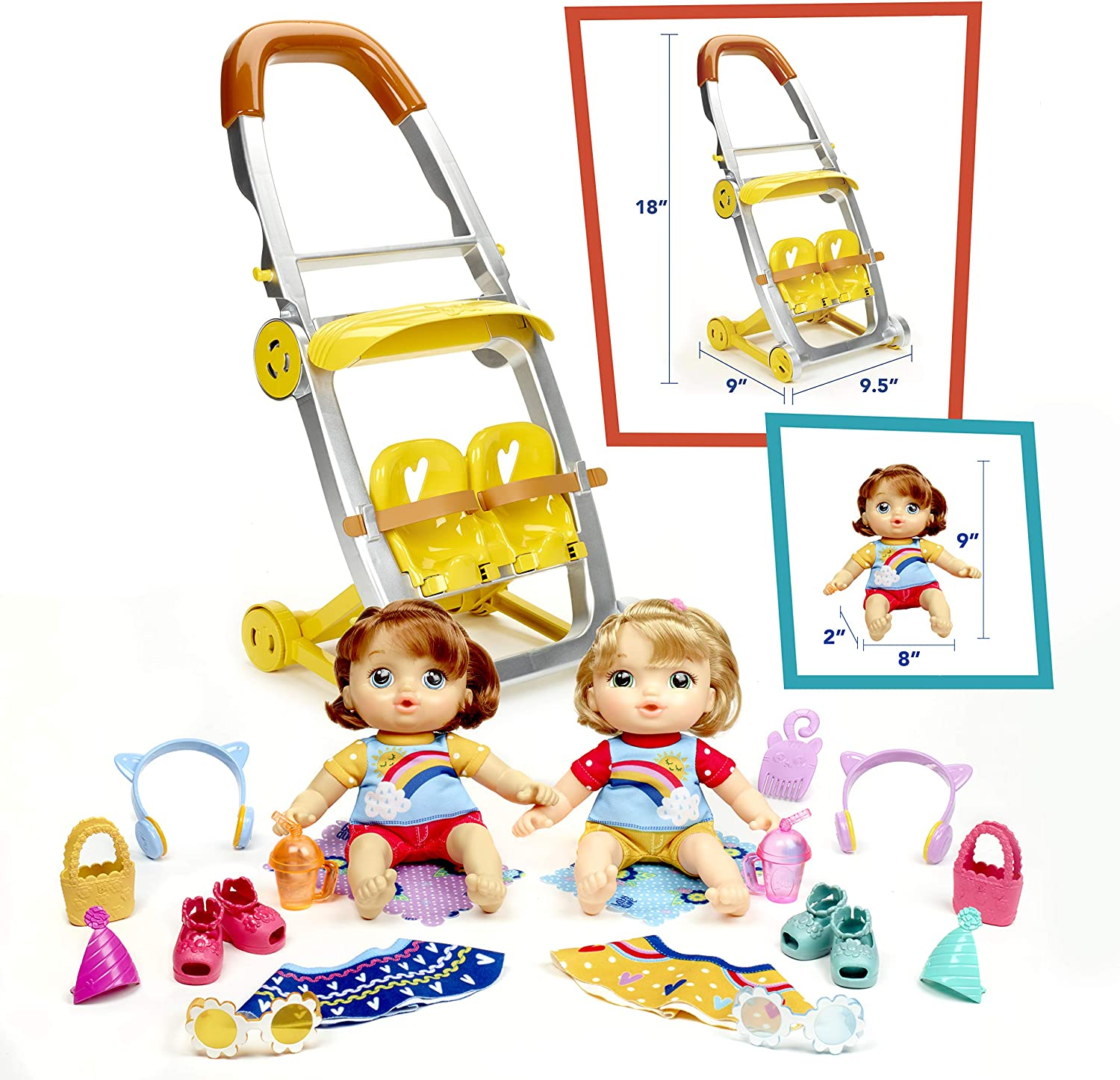 Little Baby Toddler Push A Long First Plastic Toy Dolls Buggy Pram Fun Activity