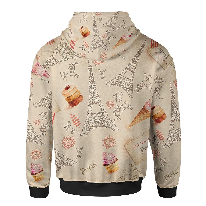 Love From Paris Women Zip Up Hoodie