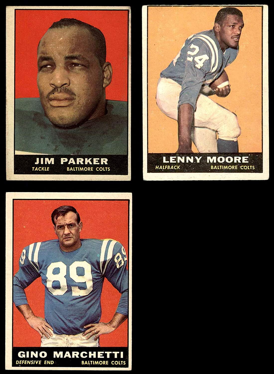 1961 Topps Baltimore Colts Team Set Baltimore Colts (Baseball Set) Dean's Cards 4 - VG/EX Colts 816xxQ8iPFLSL1500_