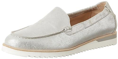 Sioux Dalibora, Women's Loafers, Grau (Linen), 4.5 UK (37 2