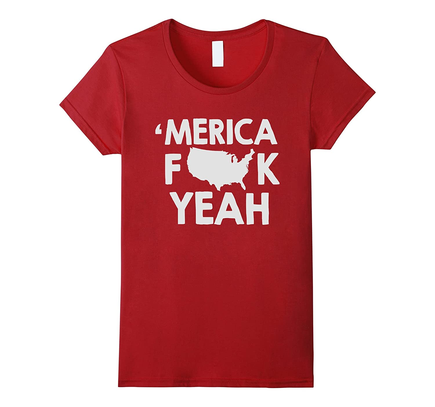 independent day tshirt 'Merica FK yeah independent day tshir-Yolotee