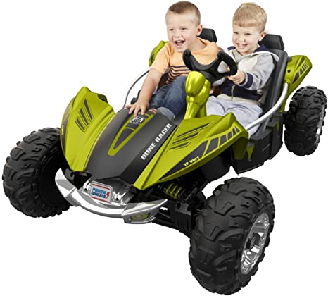 Amazon Com Power Wheels Dune Racer Green Toys Games