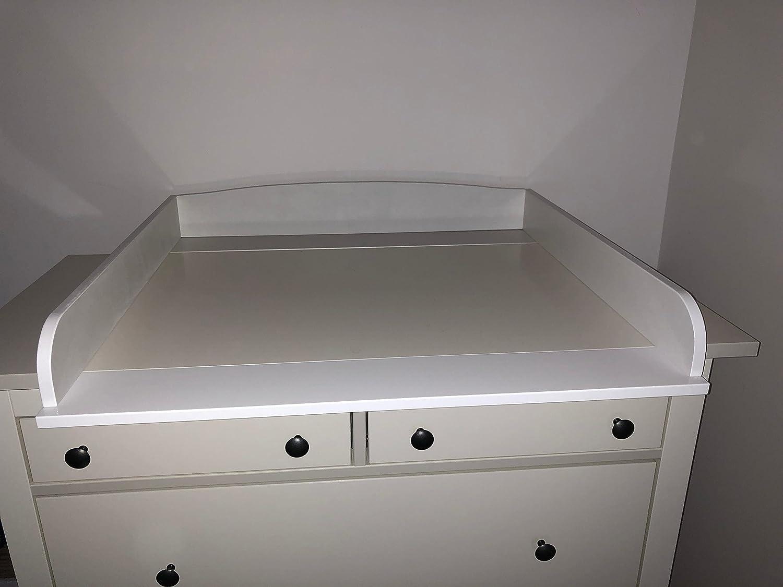 perezoso Kids –  Cambiador ufsatz para Ikea kommoden Có moda, con una anchura de 30 –  51 cm madera color blanco con una anchura de 30-51cm madera color blanco Faultier ® Kids