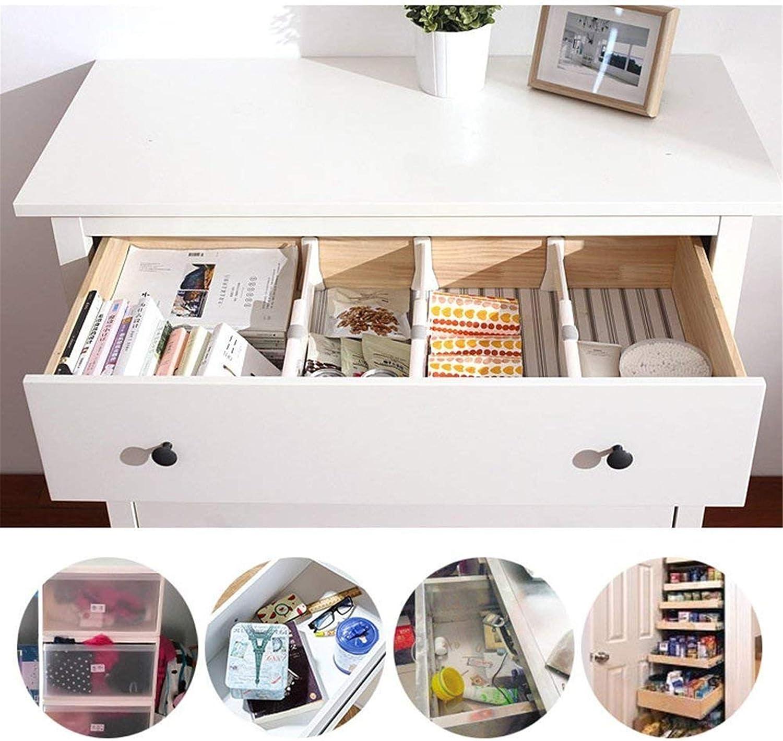Happy Event – Organizador de cajones | schubladentrenner | White Spring Loaded Ampliable Cocina Dormitorio veranstalter: Amazon.es: Jardín