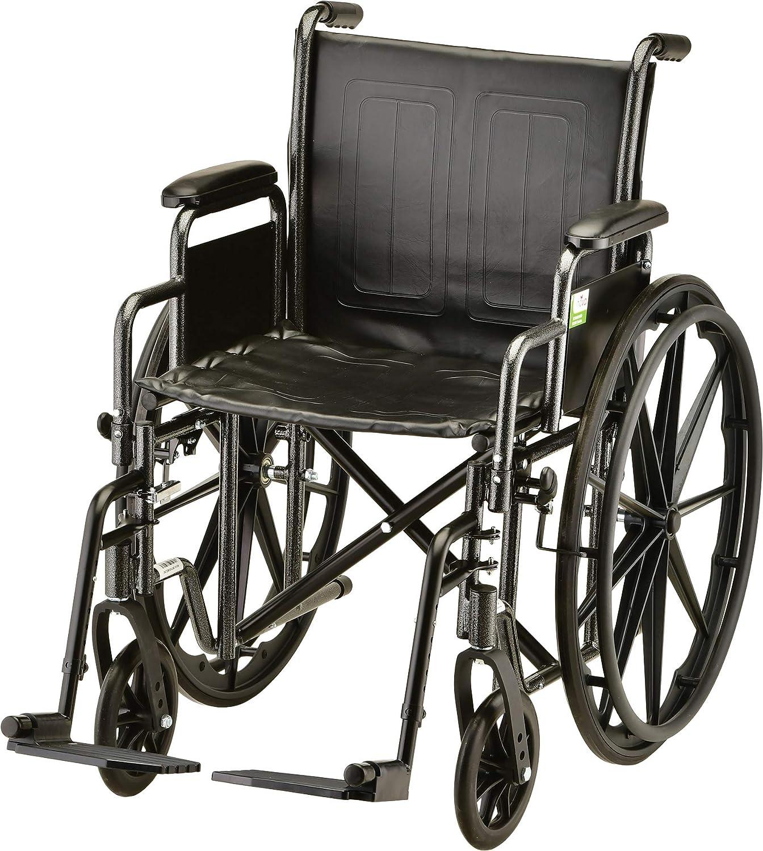 "B0016J9S16 NOVA 16"" Steel Wheelchair w/Detachable Desk Arms & Swing Away Footrests 816y0iY3oKL"