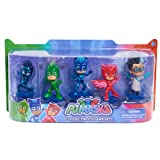 JP PJ Masks Collectible Figure (Pack of 5) villain characters may vary