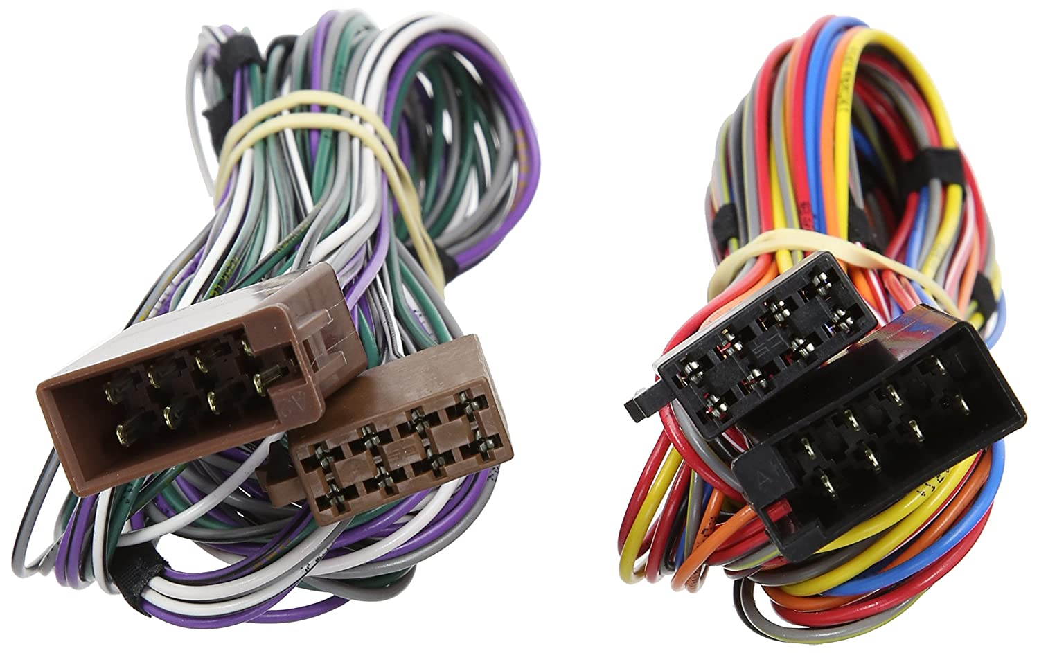 autoleads pc2-101-4 car audio harness adaptor lead 2 5m iso extension:  amazon co uk: car & motorbike