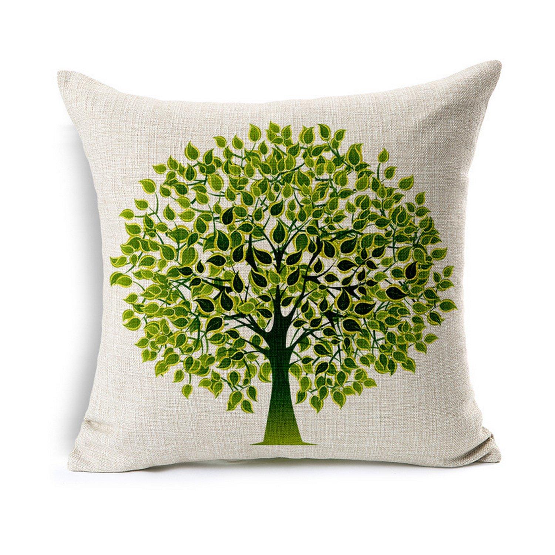 Amazon.com: loveria el Árbol de la vida algodón funda de ...