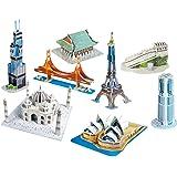"""CubicFun 3D Puzzle C-Serie """"Mini-Arquitectura Seria 2 - 8 Rompecabezas"""""""