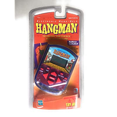 Electronic hand held Hangman by Milton Bradley: Toys & Games
