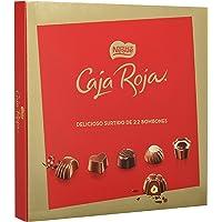 Nestlé Caja Roja - Bombones de Chocolate - Estuche de bombones 200 g