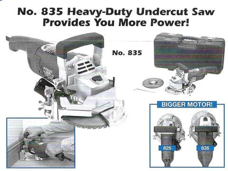 835 Heavy-Duty Undercut Saw Formerly Crain 825NEW Crain No