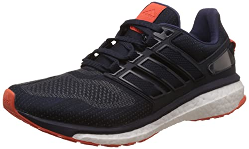 newest b12b0 e31c2 adidas Energy Boost 3, Zapatillas de Running Hombre, Azul (Night  Navy Midnight Grey Energy Orange), 43 1 3  Amazon.es  Zapatos y complementos
