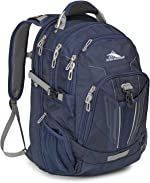 High Sierra XBT-TSA Laptop Backpack, True Navy/Charcoal, One Size