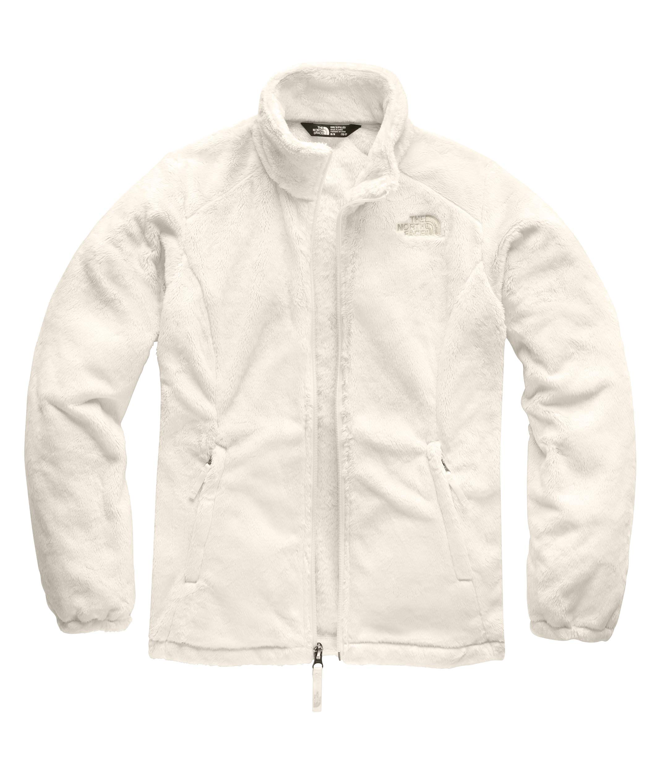 The North Face Girls' Osolita Jacket, Vintage White, XX-Small