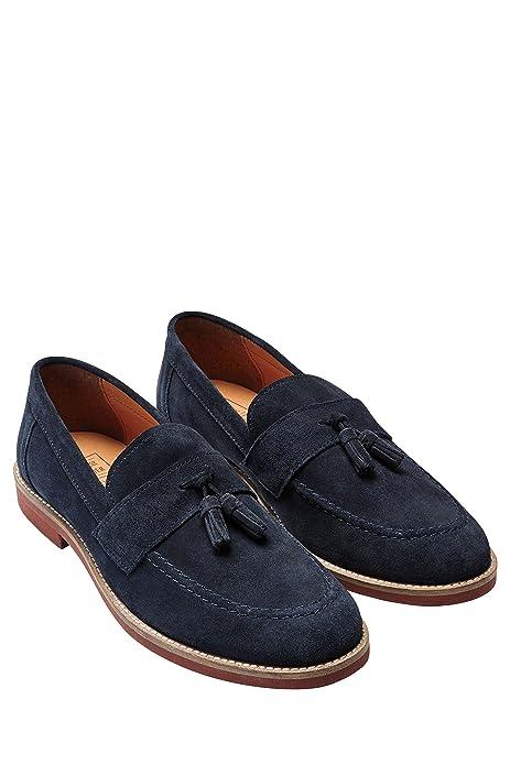 next Hombre Zapatos Zapatillas Mocasines De Ante Adorno De Borlas Clásicos Cómodos Casual: Amazon.es: Zapatos y complementos