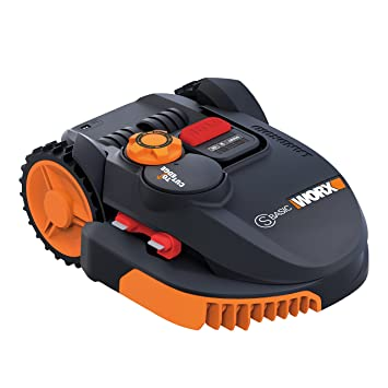 Worx wr094s Robot cortacésped Landroid, 36 W, 20 V, Negro Naranja, 350 m²