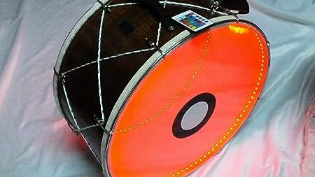 Kolo: Remo Skin Tef Tambourine Riq Marine con platillos ...