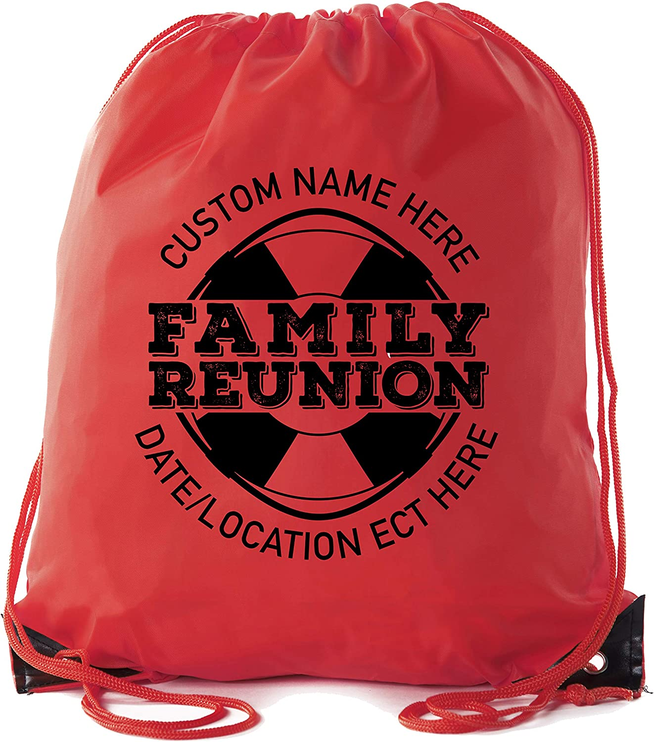 Life Raft Print with Custom name and Date Family Reunion Party Favor Bags