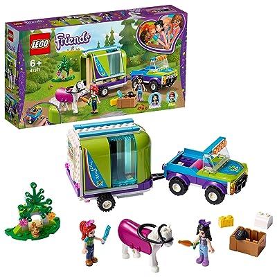 LEGO Friends - Remolque del Caballo de Mia Nuevo juguete de construcción de Coche con Remolque, incluye dos mini muñecas (41371): Juguetes y juegos