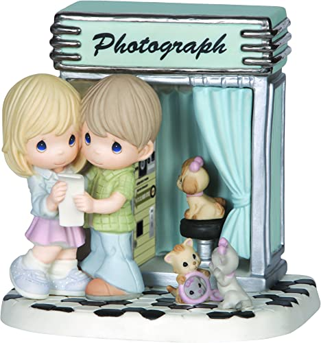Precious Moments, You ve Captured My Heart, Limited Edition, Bisque Porcelain Sculpture, 144017