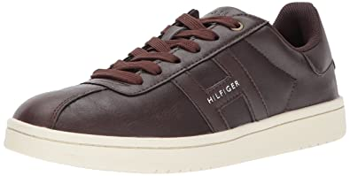 Tommy Hilfiger Men's LYOR Shoe, Brown, 7 Medium US