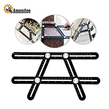 Amenitee Universal Angularizer Ruler - Full Metal Multi Angle ...