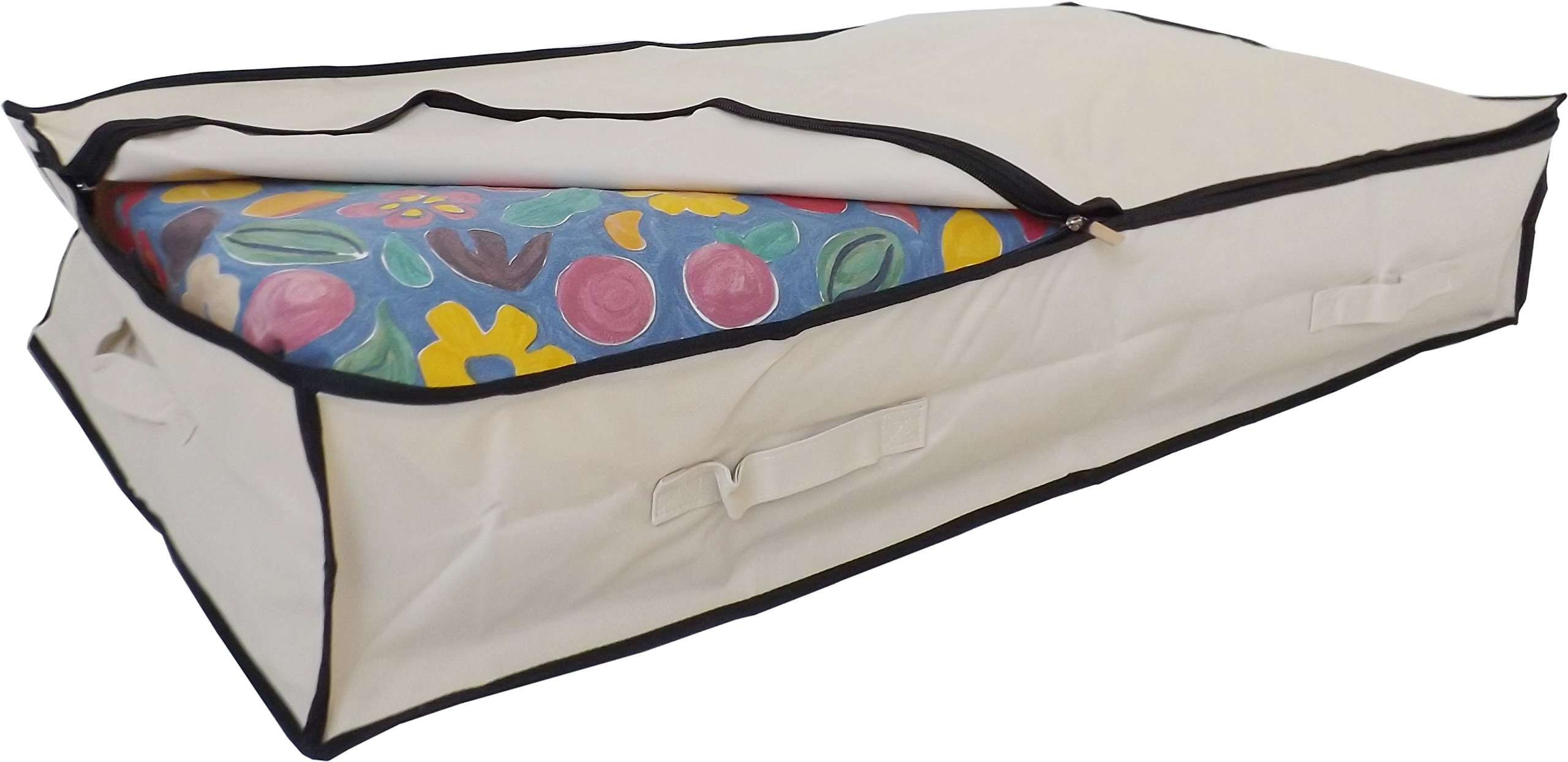 Stupidly Useful - Bolsa de almacenamiento para debajo de la cama hecha en poliéster