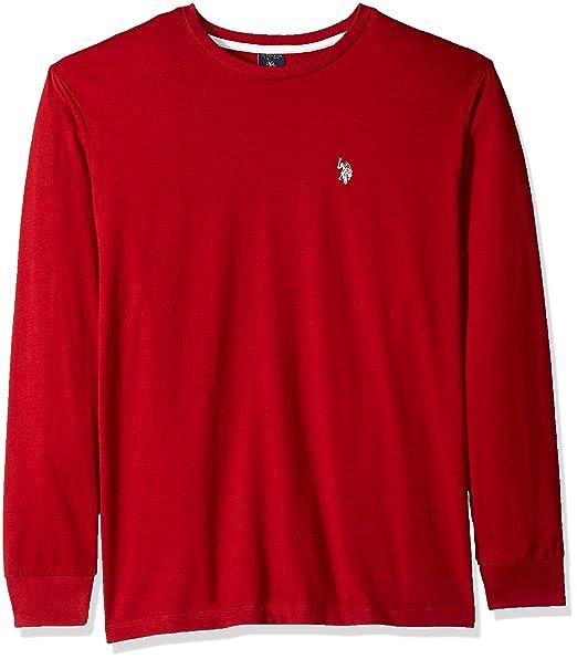 40cbcb1f0 U.S. Polo Assn. Men s Long Sleeve Crew Neck T-Shirt