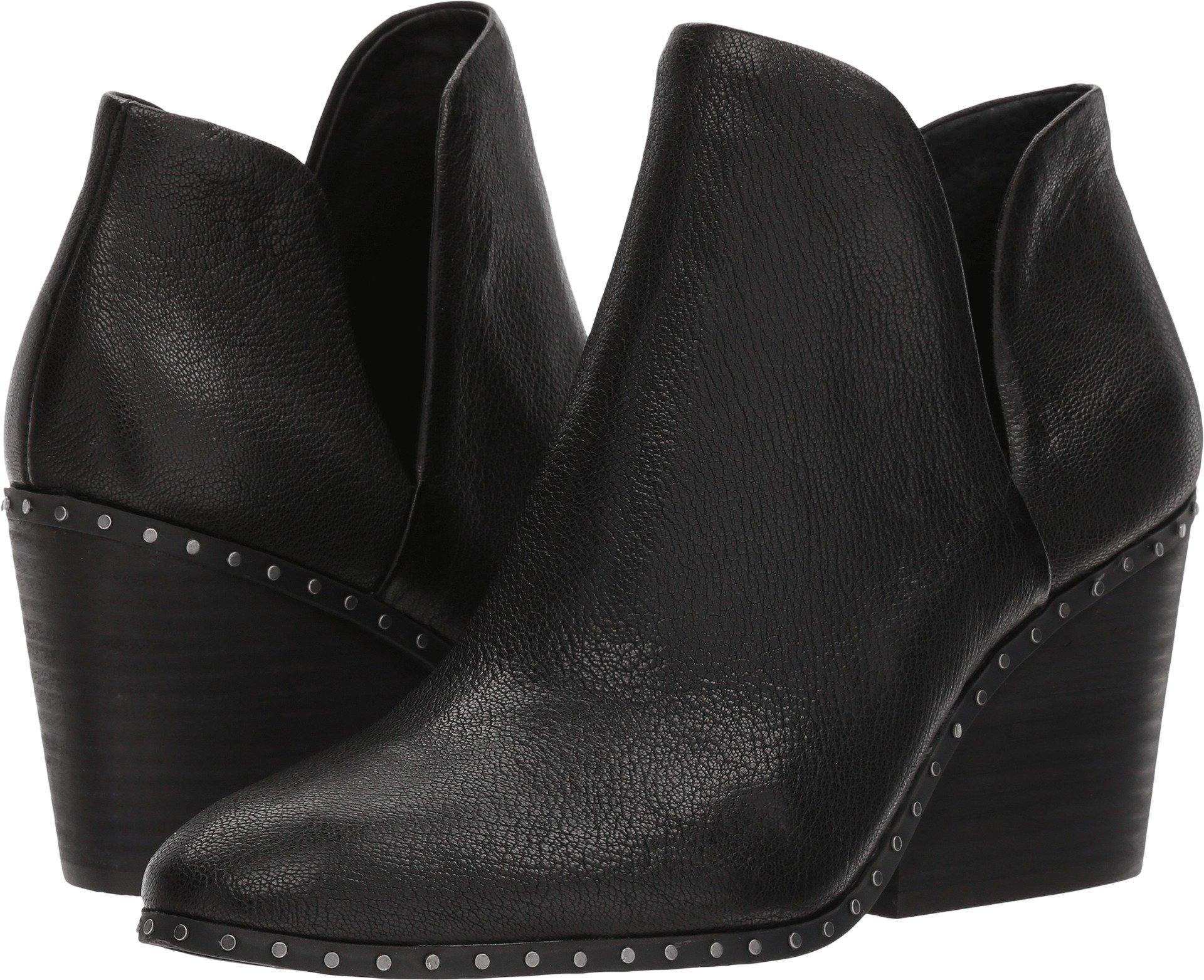 Lucky Brand Women's LEZZLEE2 Ankle Boot, Black, 8 Medium US