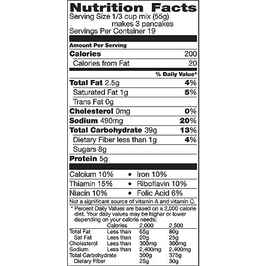 Amazon.com : Betty Crocker Complete Pancake Mix, 37 oz : Grocery & Gourmet Food