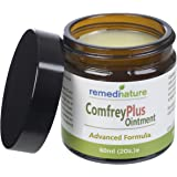 Remedinature Comfrey Plus Ointment 60ml: Natural Body Muscle Joint Skin Balm, Soothing Comforting, Made In UK