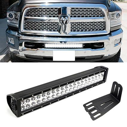 amazon com ijdmtoy lower bumper 20 led light bar kit for 2009 2018 rh amazon com Ram 1500 Ram 1500