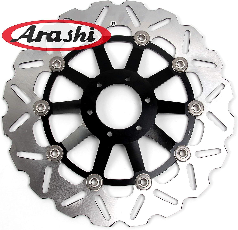 Arashi Front Rear Brake Disc Rotor for HONDA VTR1000F 1997-2007 Motorcycle Replacement Accessories VTR 1000 F Firestorm//Super Hawk 1998 1999 2000 2001 2002 2003 2004 2005 2006