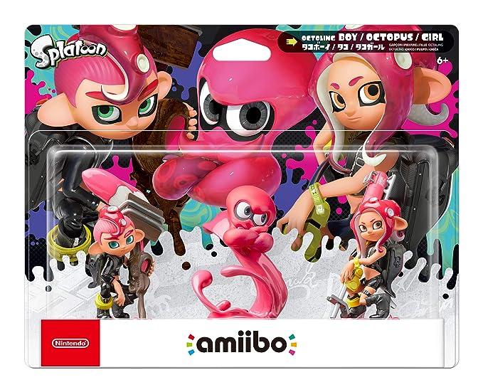 Amazon.com: Nintendo Splatoon Series - Octoling Amiibo 3 ...