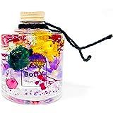 エキゾチックで大人可愛い‼ 人気のBottYハーバリウム‼ スタック瓶200ml1本(エキゾチック・マーメイドフラワー)