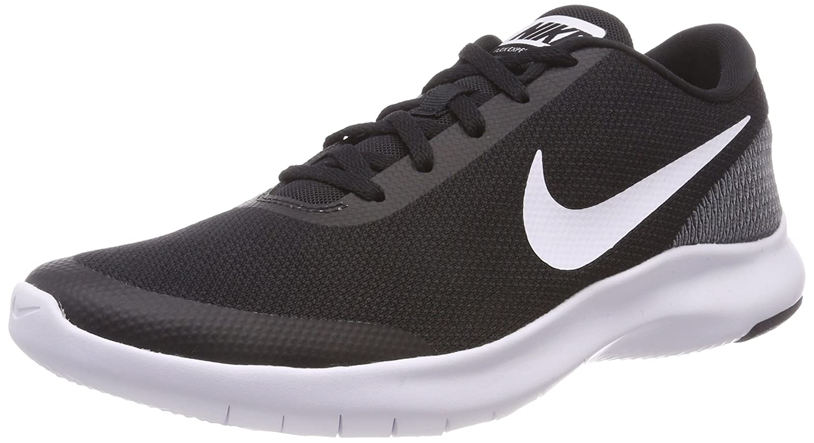 NIKE Women's Flex Experience Run 7 Shoe 908996 Wolf Grey White Cool Grey - 1