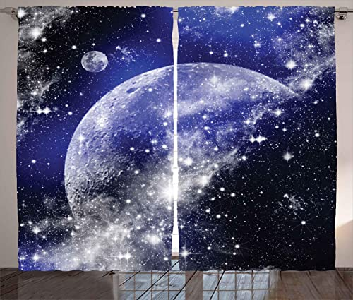 Ambesonne Space Curtain