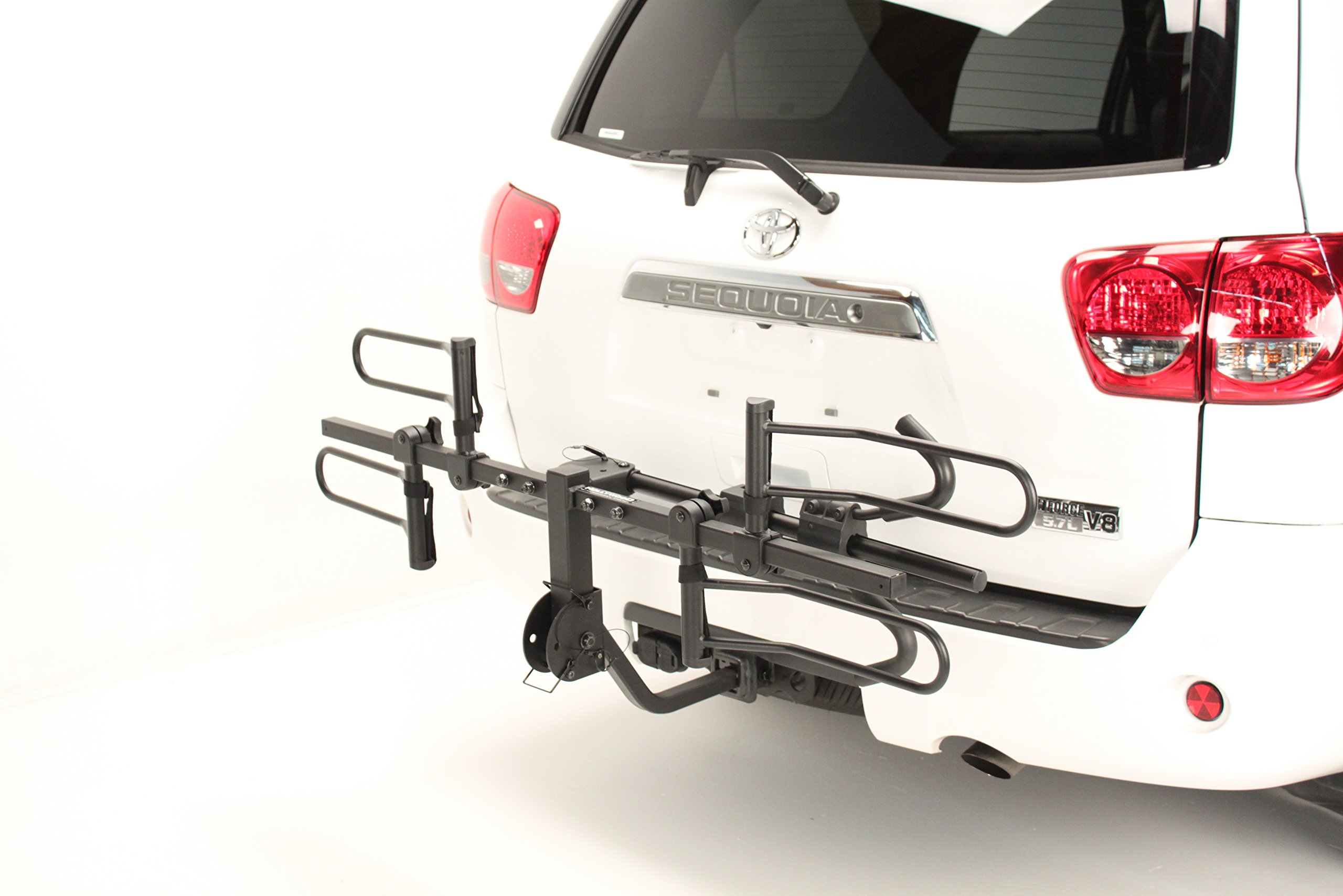 Hollywood Racks HR1000 Sport Rider 2-Bike Platform Style Hitch Mount Rack (1.25 and 2-Inch Receiver) by Hollywood Racks (Image #2)