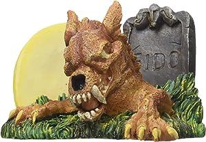 Penn-Plax Zombie Werewolf Aquarium Ornament, 4.1 by 3 by 3-Inch