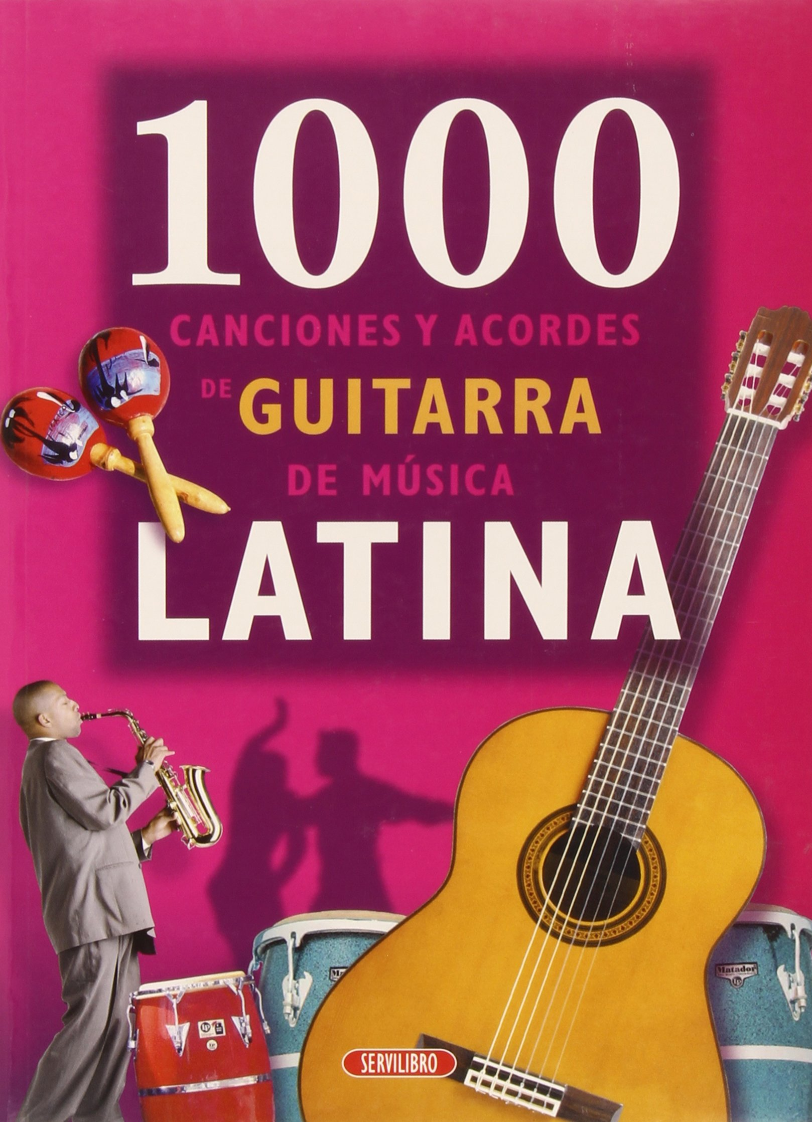 1000 Canciones Con Acordes De Guitarra - Canciones Latinas: Amazon ...
