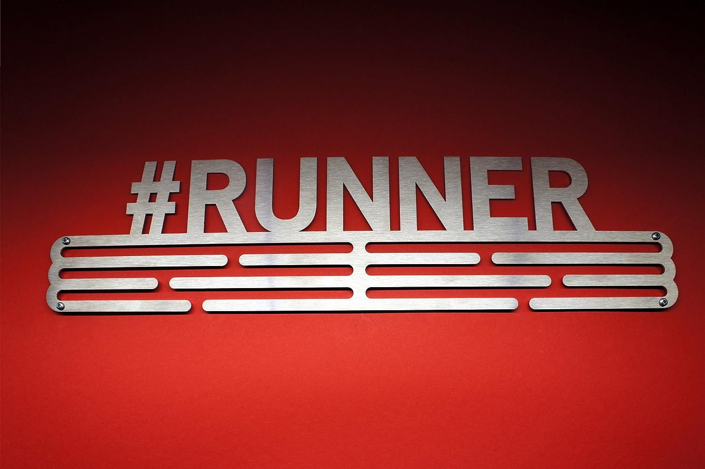 stainless steel holder Running medal hanger #RUNNER