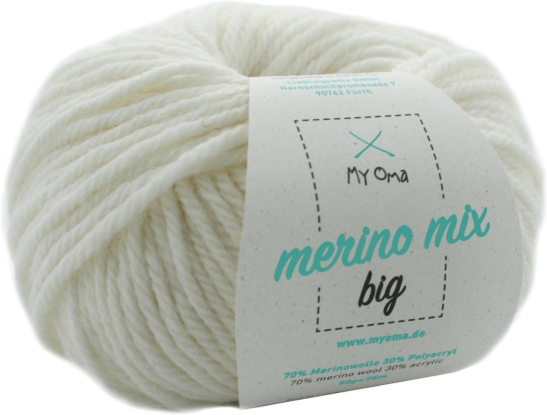 naturwolle zum stricken-Häkelgarn lila 500gr strickwolle meliert Stricken