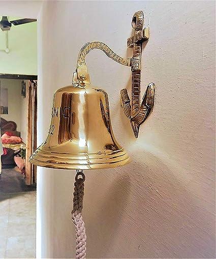 Latón campana barco campana 14 cm