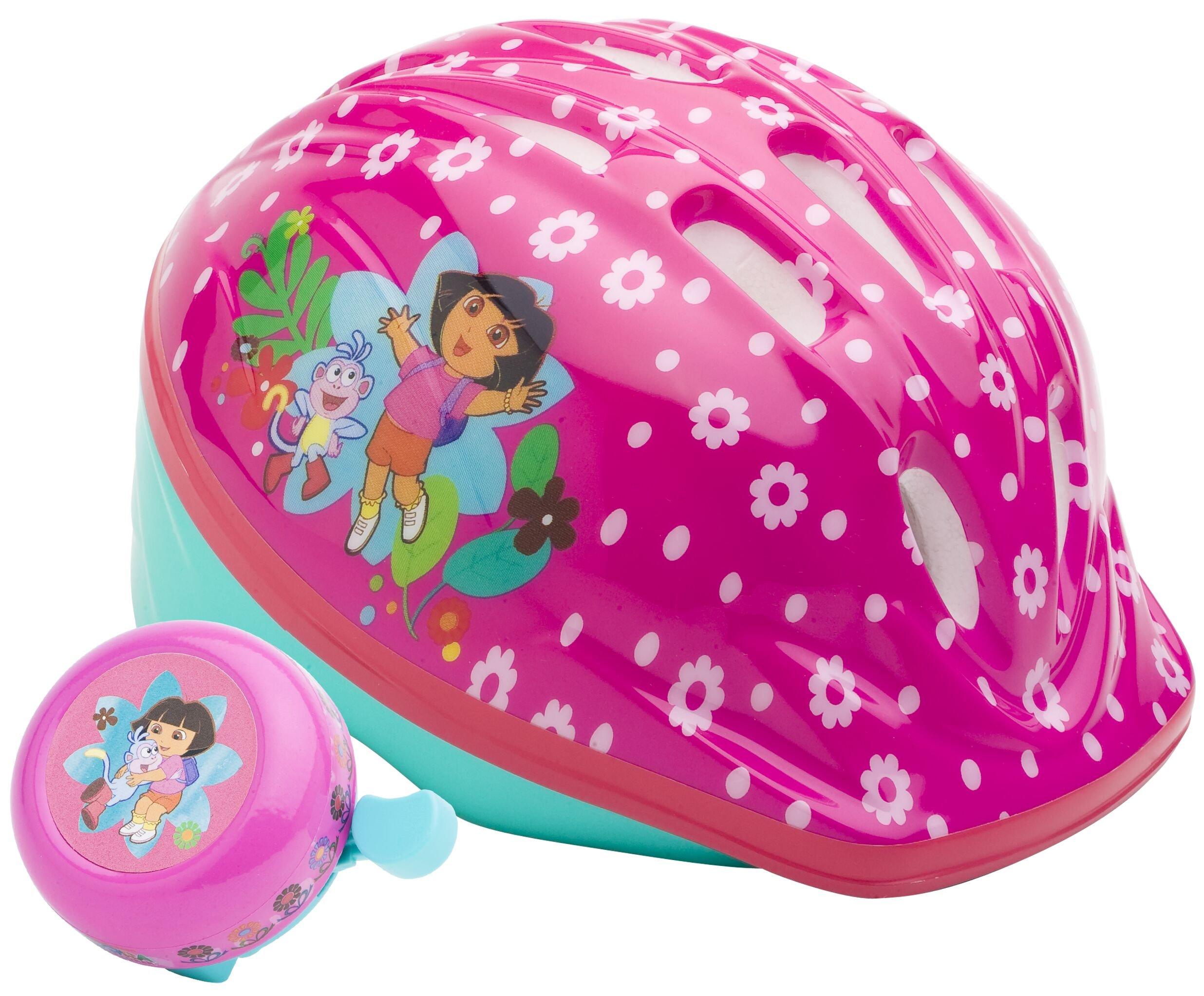 Dora Toddler Microshell Helmet (Pink) by Dora the Explorer (Image #1)