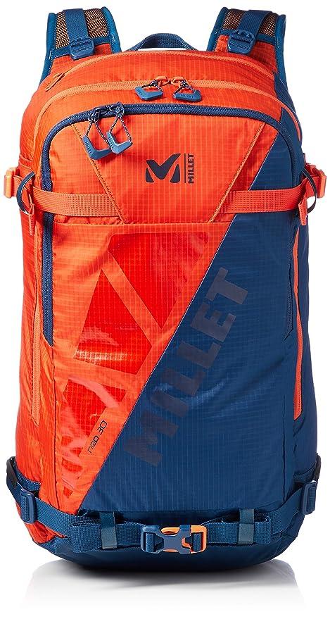 Millet Neo 30 Mochila Tipo Casual, 45 cm, 30 litros, Orange/Poseidon